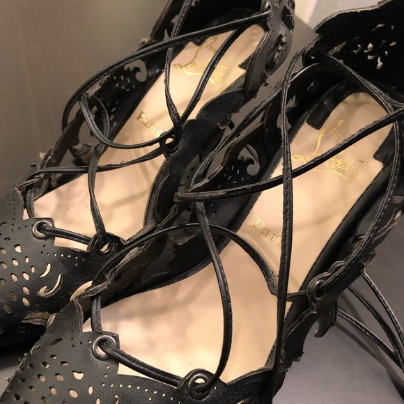 wholesale dealer 8ca62 48587 Christian Louboutin Impera 120 Laser Cut Lace-up.